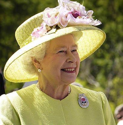 La Reine Elizabeth et l'iPad