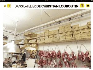 Elle aime la mode iPad - dans l'atelier de Christian Louboutin