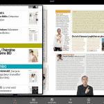 App de magazines féminins sur iPad : Elle, Femina, Madame Figaro..