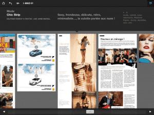 Diaporama iMad - Figaro Madame sur iPad