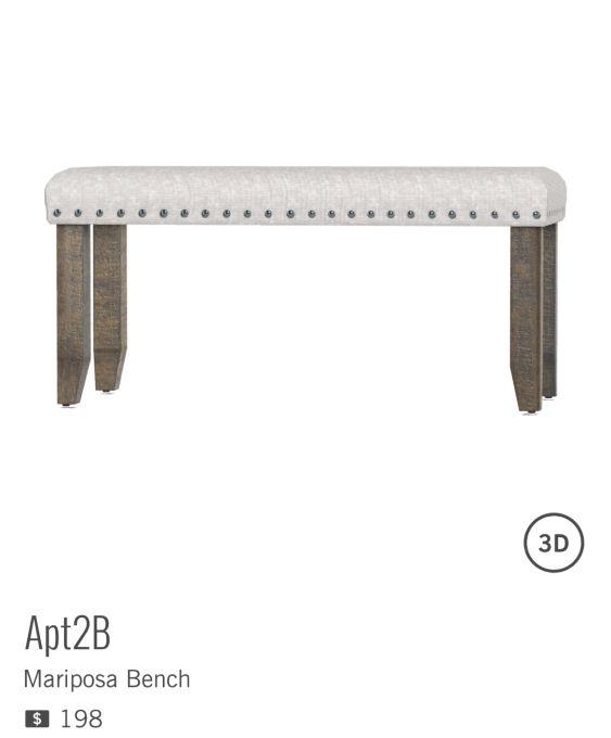 MARIPOSA de APT2B à $198