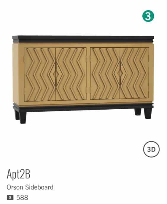 ORSON de la marque APT2B est à $588
