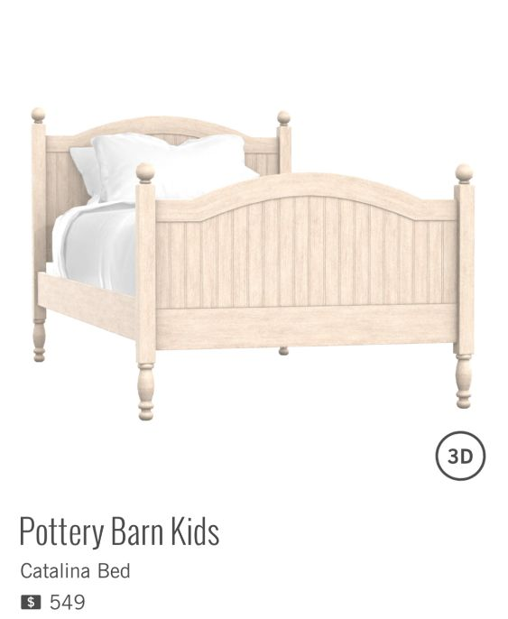 Catalina Bed de POTTERY BARN KIDS à $549